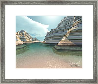 Canyon River Framed Print by Corey Ford