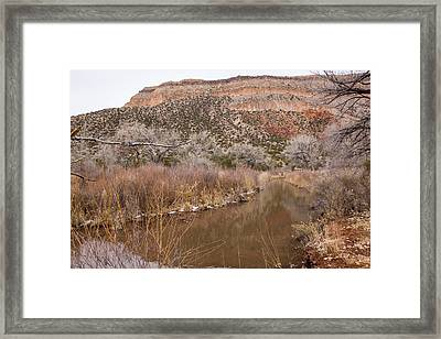 Canyon River Framed Print by Ricky Dean