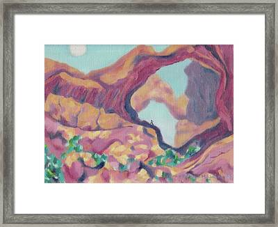 Canyon Framed Print by Suzanne  Marie Leclair