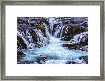 Canyon Waters Iv Framed Print