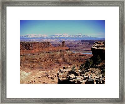 Canyonlands 5 Framed Print by Marty Koch