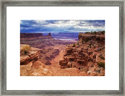 Canyonlands After The Storm Framed Print