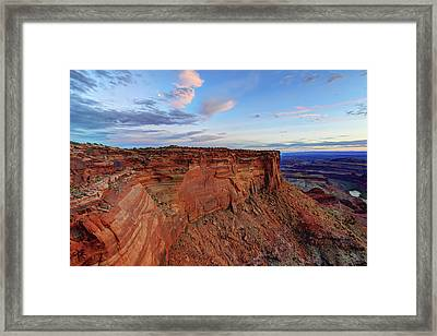 Canyonlands Delight Framed Print by Chad Dutson