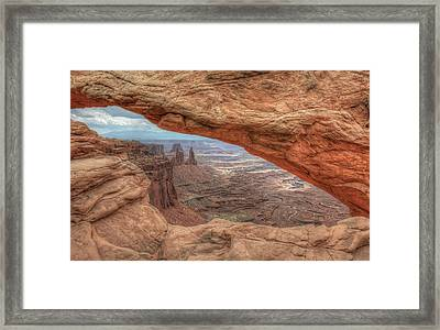 Canyonlands From Mesa Arch Framed Print