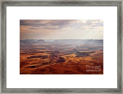 Canyonlands Panorama Framed Print