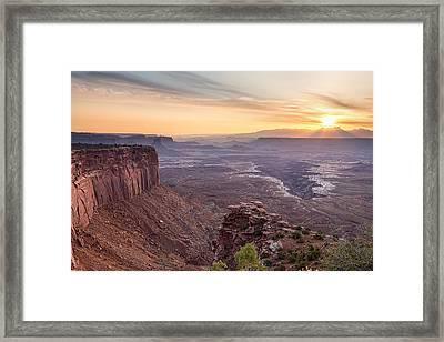 Canyonlands Sunrise Framed Print by James BO  Insogna