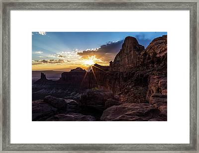 Canyonlands Sunset Framed Print by James Marvin Phelps