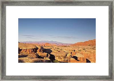 Canyonlands Sunset Framed Print by Kunal Mehra