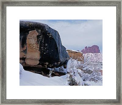 Canyonlands Swirl Framed Print