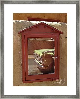 Canyonrowreflect02 Framed Print