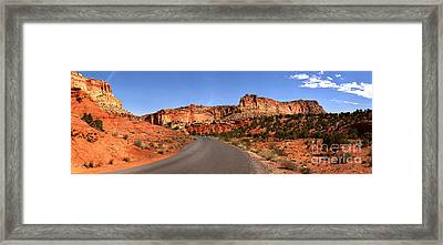 Canyons Ahead Framed Print by Adam Jewell