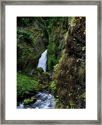 Canyon's End Framed Print