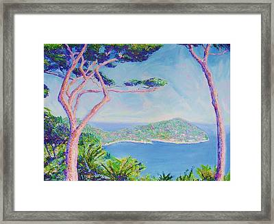 Cap Ferat Provence Framed Print by Pixie Glore