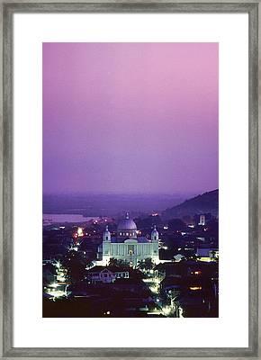 Cap-haitian Central Church Framed Print