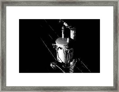 Capacitor Framed Print by Bob Orsillo