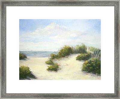 Cape Afternoon Framed Print by Vikki Bouffard