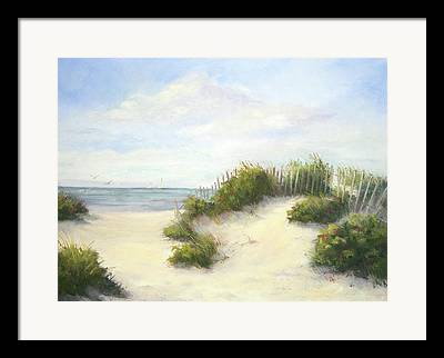 Sand Fences Paintings Framed Prints