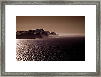 Cape Agulhas South Africa Framed Print by G Wigler