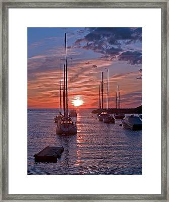 Cape Ann Sunrise Framed Print