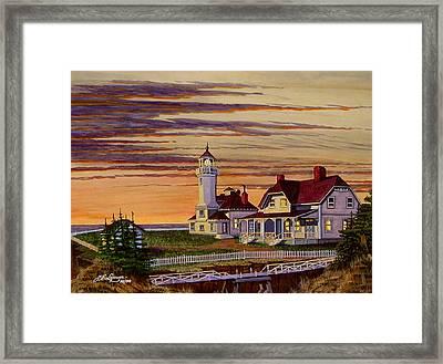 Cape Arago Framed Print by James Lyman