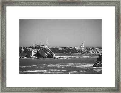 Cape Arago Lighthouse Framed Print by Ralf Kaiser