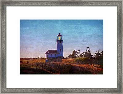 Cape Blanco Lighthouse Oregon Framed Print by Garry Gay