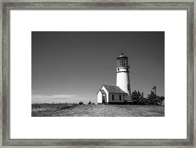 Cape Blanco Lighthouse Framed Print by Ralf Kaiser