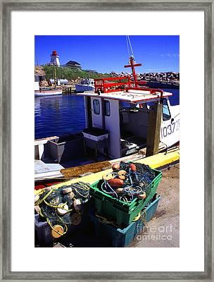 Cape Breton Island Framed Print by Thomas R Fletcher