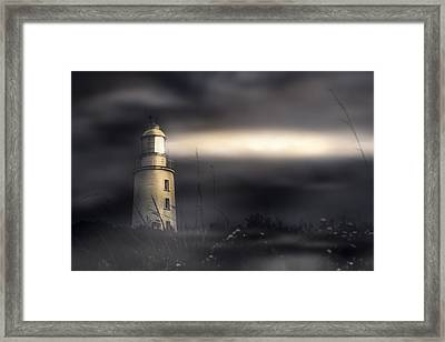 Cape Bruny Lighthouse Framed Print by Jorgo Photography - Wall Art Gallery