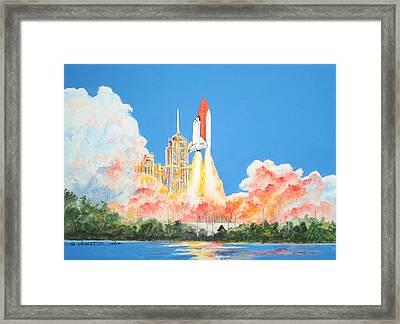 Cape Canaveral Framed Print by Dennis Vebert