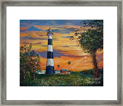 Cape Canaveral Light Framed Print