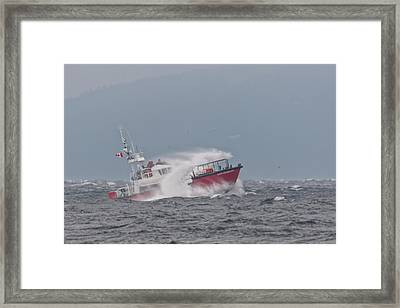Framed Print featuring the photograph Cape Cockburn by Randy Hall
