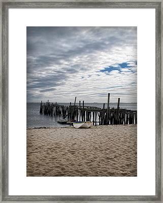 Cape Cod Bay Framed Print by Joan  Minchak