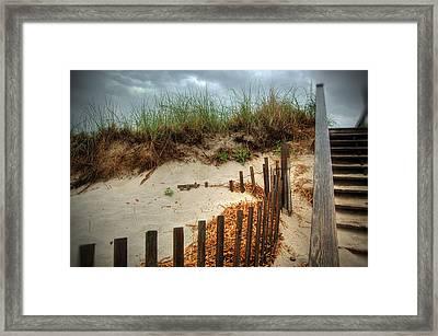 Cape Cod Beach Framed Print