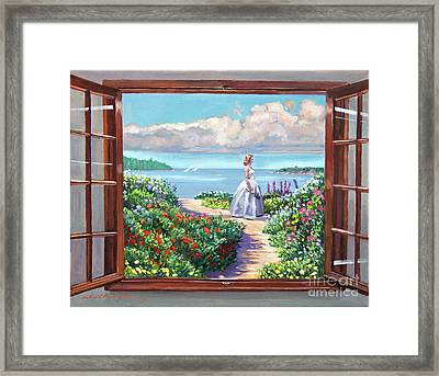 Cape Cod Beauty Framed Print by David Lloyd Glover