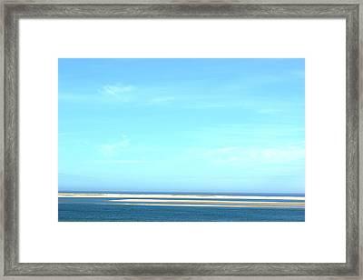Cape Cod Big Sky Framed Print by David Birchall