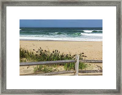 Framed Print featuring the photograph Cape Cod Bliss by Michelle Wiarda