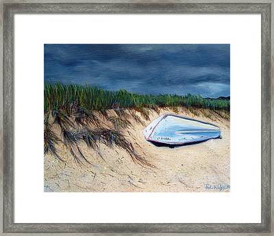 Cape Cod Boat Framed Print by Paul Walsh