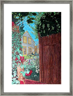 Cape Cod Cottage Framed Print by Joshua Armstrong