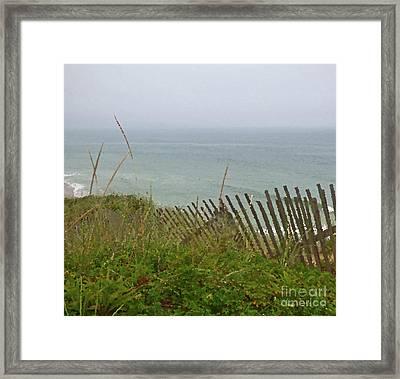 Cape Cod Dunes Framed Print
