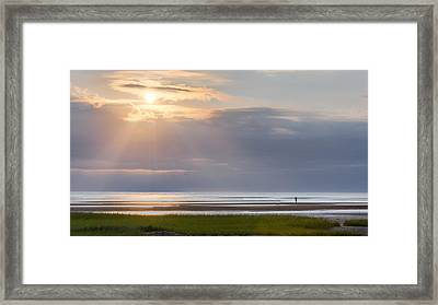 Cape Cod First Encounter Beach Framed Print by Bill Wakeley