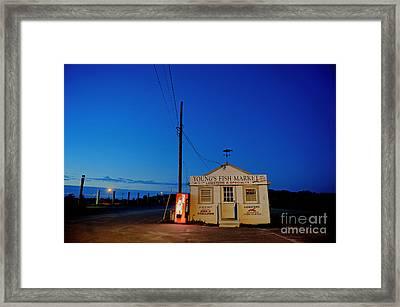 Cape Cod Fish Market Framed Print by John Greim