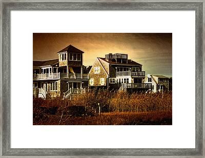 Cape Cod Gold Framed Print