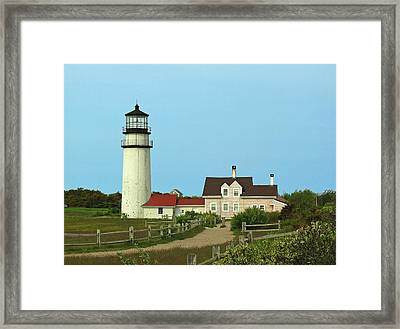 Cape Cod Highland Lighthouse Framed Print by Juergen Roth