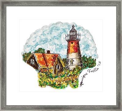 Cape Cod Lighthouse Framed Print