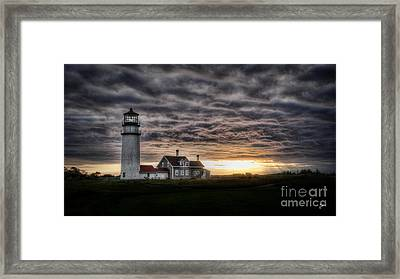 Cape Cod Lighthouse Framed Print by TK Goforth