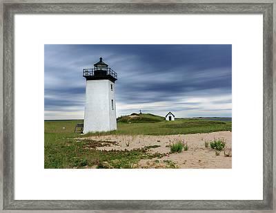 Cape Cod Long Point Lighthouse Framed Print