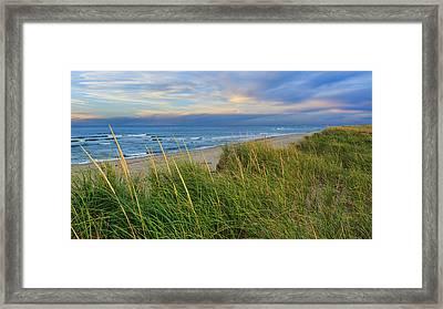 Cape Cod Ma Coast Guard Beach Framed Print