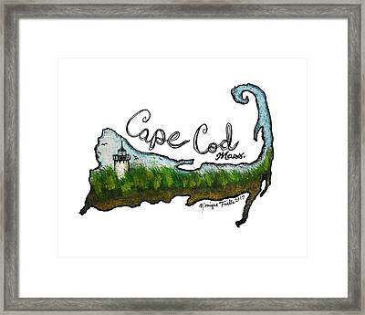 Cape Cod, Mass. Framed Print
