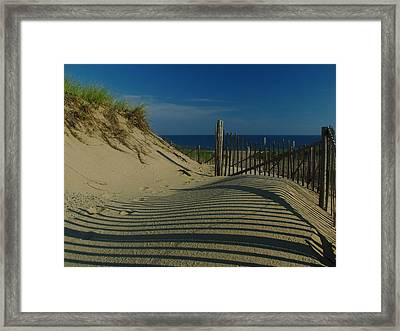 Cape Cod National Seashore Framed Print